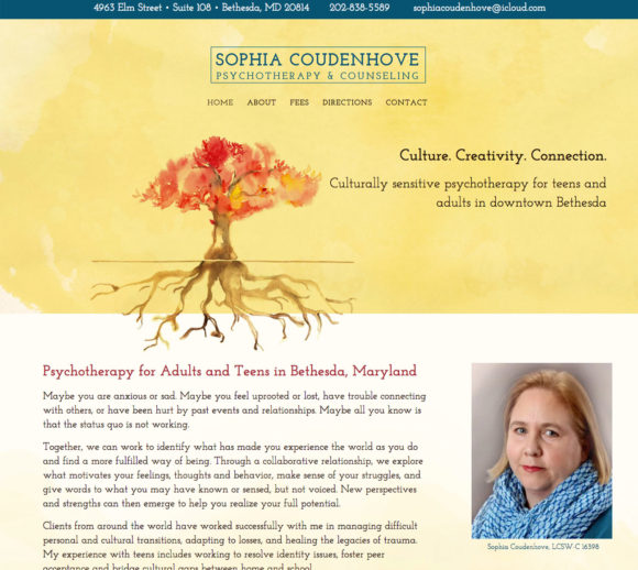 Sophia Coudenhove Psychotherapy & Counseling