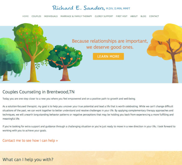 Brentwood Marriage Counselor