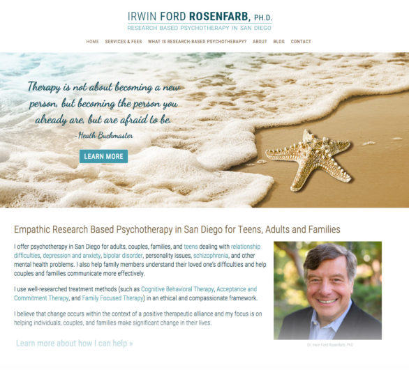 Irwin Ford Rosenfarb, PhD